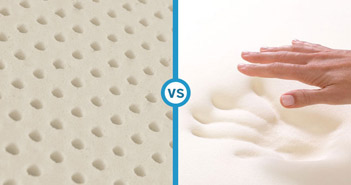 Latex Mattress vs Memory Foam Mattress