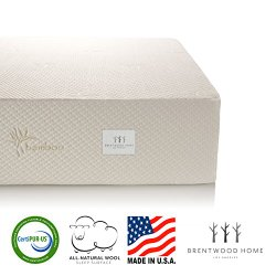 Brentwood Home 11 Inch Gel HD Memory Foam Mattress