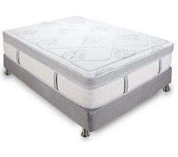 Classic Brands Gramercy 14 Inch Memory Foam and Innerspring Mattress