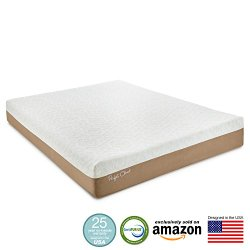 Perfect Cloud Atlas Gel-Plus 10 Inch Memory Foam Mattress