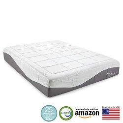 Perfect Cloud Elegance Gel-Pro 12 Inch Memory Foam Mattress Review